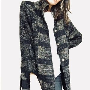 Artisanal handwoven jacket
